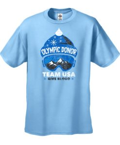 Olympic Donor TeamUSA Give Blood Sky Blue